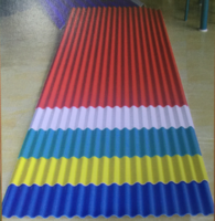 COLOR CORRUGATED STEEL PLATE